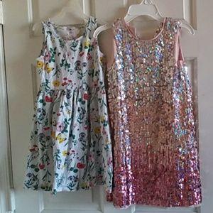 H & m girls dress 8-9Y bundle